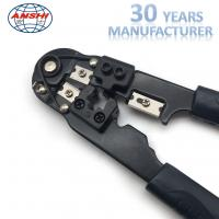 Quality Black Network Crimp Striping Cut Tool ABS Material For Cable Striper for sale