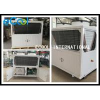 Energy Saving Freezer Condensing Unit With PLC Controller 35C ~45 ℃ for sale