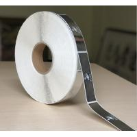 Self Adhesive Clear Bopp Roll Label , Custom Printed Chrome Sticker Label for sale