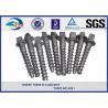 Railway sleeper fixing screws Black Oxide ISO 24 Dia 160 Length SS8 for sale