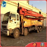 Best Germany 42M elephant band Putzmeister Concrete pump with Isuzu trailer  truck wholesale