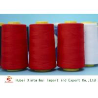 Wholesale 62s/2 Bright Red Color Spun Polyester Yarn for Sewing Machine with Paper Cone from china suppliers