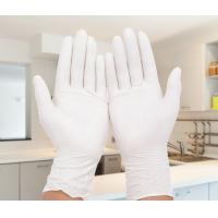 Wholesale Durable Small Powder Free Latex Gloves / Latex Medical Exam Gloves  For Extended Use from china suppliers