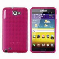 Wholesale TPU Cases for Samsung Galaxy Note with Diamond Pattern Style, Available in Various Colors from china suppliers