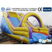 Wholesale Inflatable Bouncer Kids Inflatable Slides / Blow Up Slides with PVC Tarpaulin from china suppliers