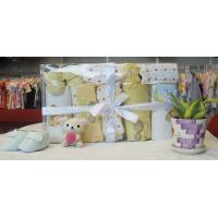 Wholesale Personalised Comfy New Born Baby Shower Gift Sets With Baby Shoes OEM from china suppliers