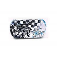 Sweet Printed Portable Game System Case Cartoon Pattern With Zipper , Eco Friendly