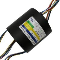 China Through Hole Slip Ring 18 Circuit 15A Voltage 240VAC Through Hole Diameter 50mm Crane Slip Ring on sale