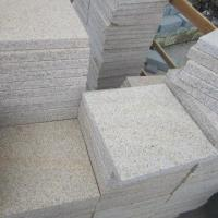 China China Beige Granite Tiles, pavers-bush, hammered-flamed on sale