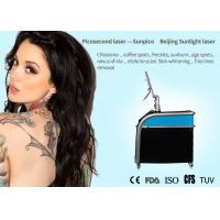 China Ultra - Short Pulses Picosecond Laser Tattoo Removal Machine 1064nm / 532nm / 755nm for sale