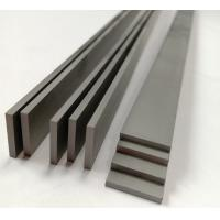 China Wearable Solid Tungsten Carbide Strips , Carbide Flat Strips For Paper Cutting Tools on sale