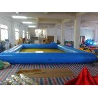 Wholesale OEM Large PVC tarpaulin 10 x 10 meter Inflatable Water Pools ( free repair kits)  from china suppliers