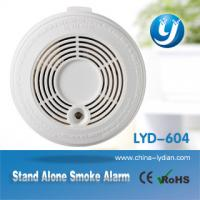 China 9V Battery Optical Smoke Detector Stand Alone For House / Office on sale