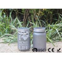 Wholesale Customized Mason Jar Led Solar Lights , Solar Powered Mason Jar Lantern from china suppliers