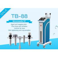 Quality Skin Tightening Fractional RF Microneedle Machine / 2MHZ Micro - Electrode Tip Winkle Removal Equipment for sale