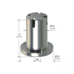Wholesale Three Branch Outlet Ceiling Connector Hardware M6 Female Thread YW86270 from china suppliers