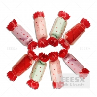 Wholesale Microfiber Hair Festival Wedding Cute Mini Small Cheap Gift Candy Shape Towel from china suppliers
