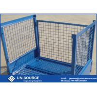 Wholesale Warehouse Collapsible Pallet Cages 500Kg - 2000Kg Load Wire Mesh Storage Boxes from china suppliers