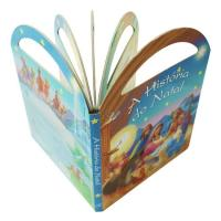 China Cardboard Fairy Tale Books For Kids Baby With Handle Film Lamination for sale