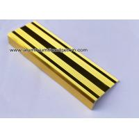 Wholesale L Shaped Straight Edge Aluminum Stair Nosing With Good Slip Resistance from china suppliers
