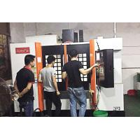 China Rib Structure Reinforced CNC Vertical Machining Center Pyramid Design 11kw on sale