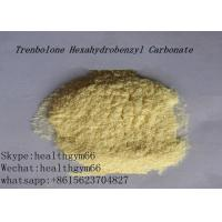 Wholesale CAS 23454-33-3 Healthy Parabolan Nandrolone Steroid Tren Hexahydrobenzylcarbonate Yellow Powder from china suppliers