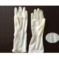 Wholesale Polymer Coating Sterile Latex Surgical Gloves  / Long Arm Latex Gloves from china suppliers