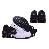 China Nike Shox Deliver Shoes Black White Green Men's Sneakers Euro Size 40-46 US 8-12 Shipping With Original Box 80% OFF on sale