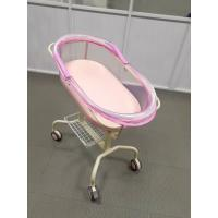 China CE ISO Approved Pediatric Hospital Baby Crib With Basket , Mattress & Sleeping Basin for sale