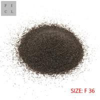 Wholesale Clean Material Brown Aluminum Oxide F36 Round Shape Corrosion Resistance from china suppliers