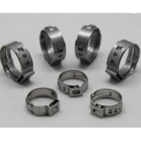 Buy cheap Stainless Steel Cv Joint Boot Clamp Ear Type Hose Clamps from wholesalers
