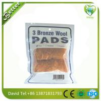 Wholesale best quality bronze wool for household kitchen and sanitary from china suppliers