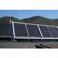 Solar Water Heating System with Horizontal Vacuum Tube Collector for sale