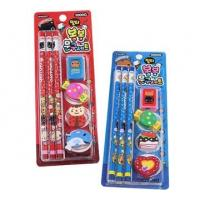 Wholesale Pretty Personalized Mini Stationery Sets With Eraser / Sharpner from china suppliers