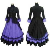 Wholesale Medieval Dress Wholesale XXS to XXXL Custom Made Renaissance Medieval Lolita Gothic Dress Cosplay Costume from china suppliers