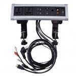China Surface mount electrical outlet desktop socket /office desk power outlets for sale