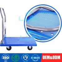 China Light - weight Steel Moving collapsible Platform Trolley for workshop on sale