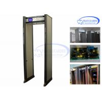 Wholesale Public Transportation Door Frame Metal Detector / Metal Detector Walk Through 24 Zones from china suppliers