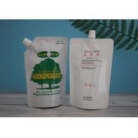 China Compound Aluminum Foil Vacuum Spout Pouch Bag 10 Colors Printing for sale