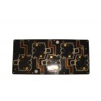 China Yellow Solder Mask Flexible PCB Board Polyimide Material RoHS Approval on sale