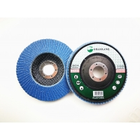 Wholesale 125mm 40 Grit 80 Grits Angle Grinder Polishing Zirconia Flap Discs from china suppliers