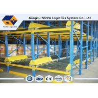 Wholesale Q235B Pre Galvanized Gravity Pallet Racking System For Logistic Warehouse from china suppliers