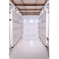 Wholesale Token Operated Lockers 3 Comparts 1 Column , Red Storage Locker For Gym from china suppliers