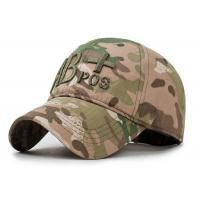 Wholesale Snapback Trucker Embroidered Baseball Caps AB Camouflage Cotton Material from china suppliers
