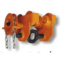 China 0.5T-30T Capacity GCL 620 Series Geared Single Trolley Manual Chain Hoist For Warehouses on sale