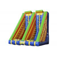 China Race Inflatable Sports Games Outdoor Toys Blow Up Ladder Climb Capacity 2 Persons for sale