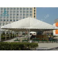 Wholesale UV Resistant and Waterproof Aluminum Alloy Outdoor Event Tent White PVC Fabric Cover from china suppliers