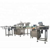 Wholesale High Capacity Automatic Bottle Filling And Capping Machine With 4 Filing Nozzles from china suppliers
