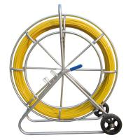 Wholesale Floor Installation Fiberglass Duct Rodder , 6mm X 100 Meter Cable Pulling Rodder from china suppliers