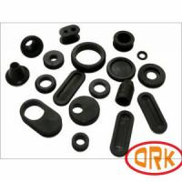 Free Sample Hose Sleeve Grommet Rubber High / Low Temperature Resistance